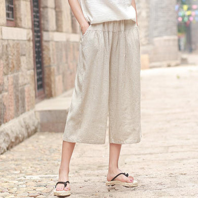 Casual Wide Leg Summer Pants - Yogalogical