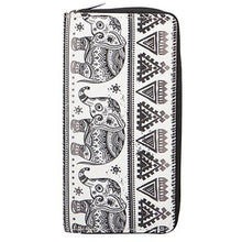 Load image into Gallery viewer, Black Elephant Purse
