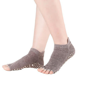 Half Toe Yoga Socks