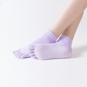 Reallion Non-slip Cotton Yoga Socks