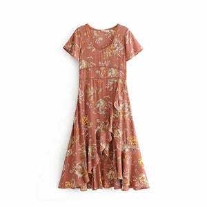 Siena Midi Summer Dress - Yogalogical