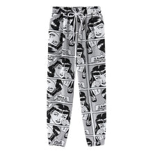 Load image into Gallery viewer, Cartoon Print Loose Harem Sweatpants