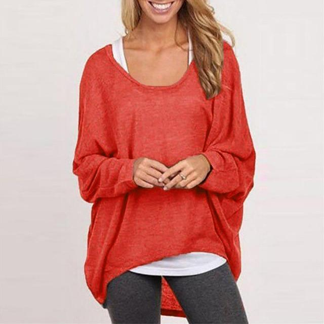 Oversized Casual T Shirt Sweater