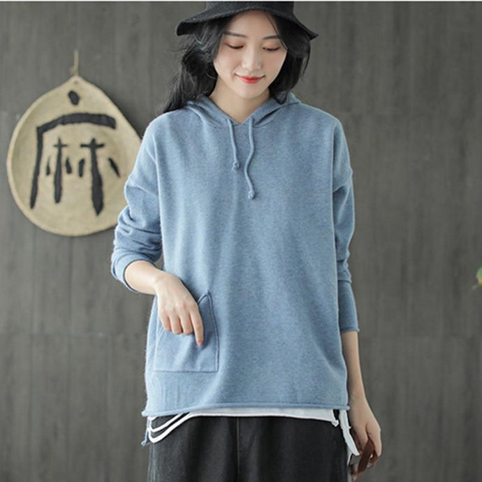 Casual Loose Hooded Sweater