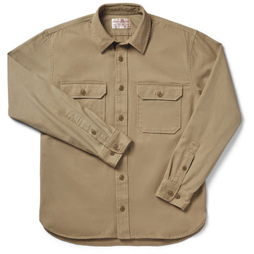 6oz Drill Chino Shirt Khaki
