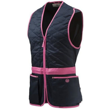 Trap Cotton Vest Blue/Pink
