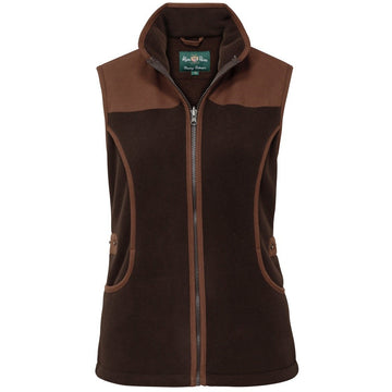 Aylsham Ladies Fleece Shooting Vest Peat