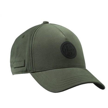 Rubber Patch Logo Cap Olive