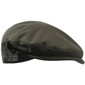 Waterproof Flat Cap Olive