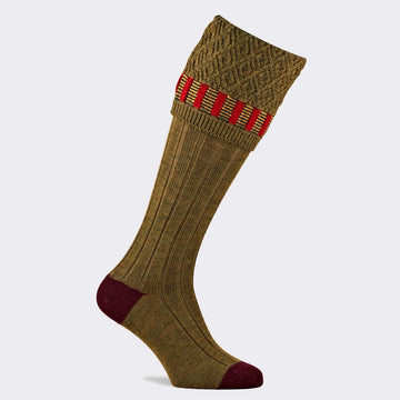 Bristol Old Sage Shooting Sock