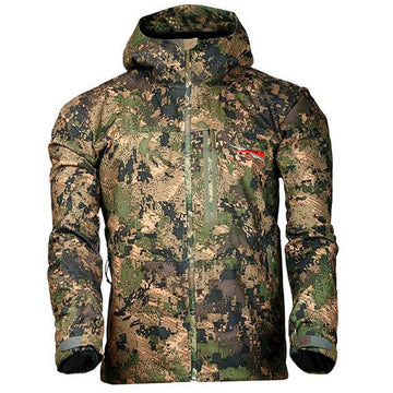 Downpour Jacket Ground Forest