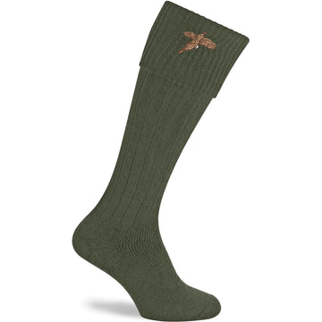 Stalker Olive Shooting Sock
