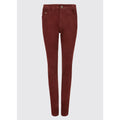 Honeysuckle Ladies Jeans Russet