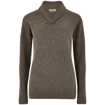 Dunaghmore Women's Sweater Elk