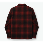 Jac Shirt Oxblood Black