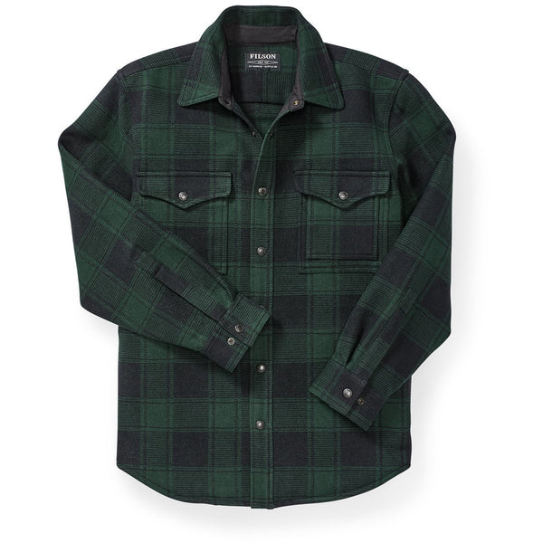 Beartooth Jac-Shirt Black/Green Plaid