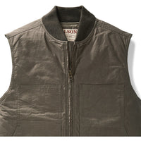 Dry Wax Work Vest Green