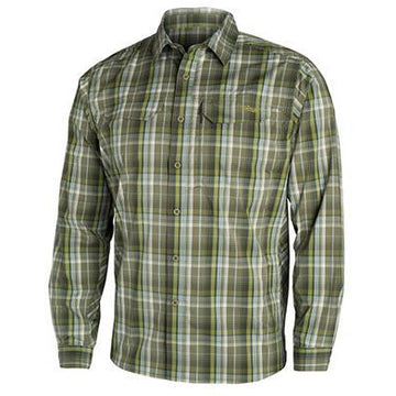 Globetrotter Shirt Cargo Plaid