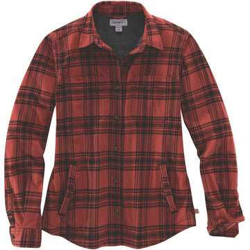 W Hamilton Plaid Flannel Shirt Redwood