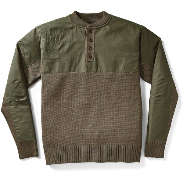 Henley Guide Sweater Green