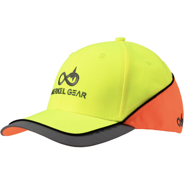 High Viz Cap Yellow Orange