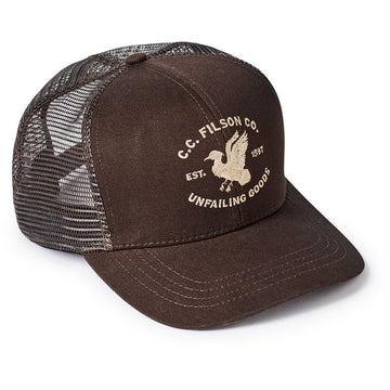Highway 2 Logger Mesh Cap Brown