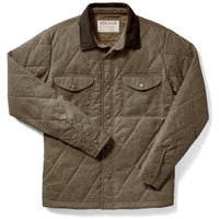 Hyder Quilted Jac-Shirt Tan