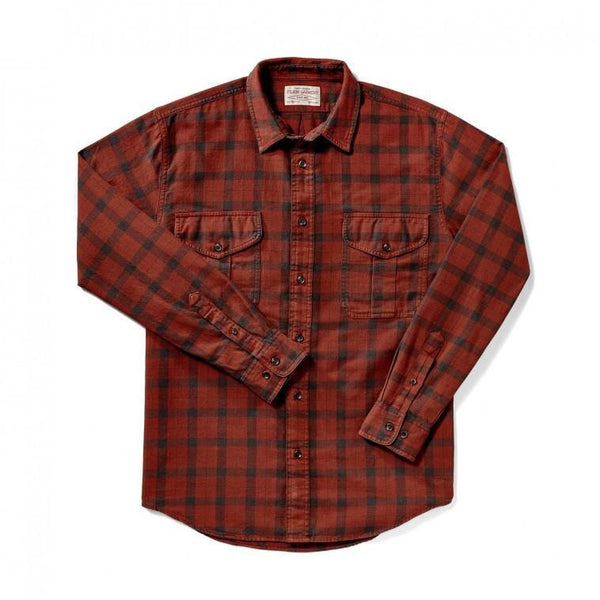 Lightweight Alaskan Guide Shirt Burgundy