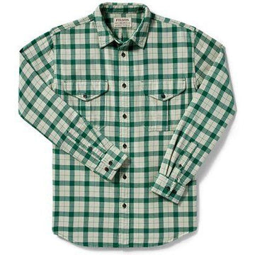 Lt Wt Alaskan Guide Shirt Green Check