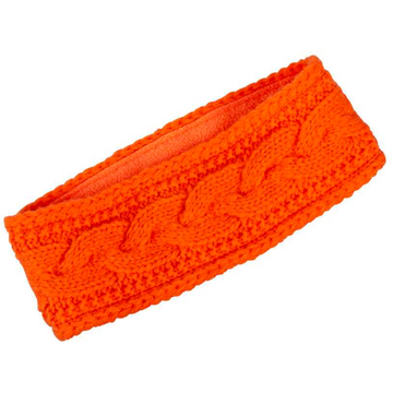 Zopf-Stirn Pannband Orange