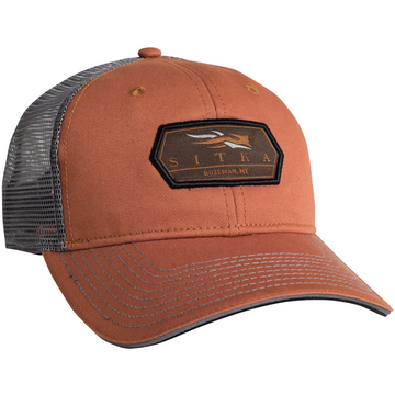 Meshback Cap Burnt Orange