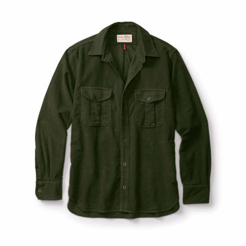Seattle Shirt Moleskin Dark Olive