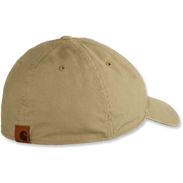 Rigby Stretch Fit Patch Cap Dark Khaki