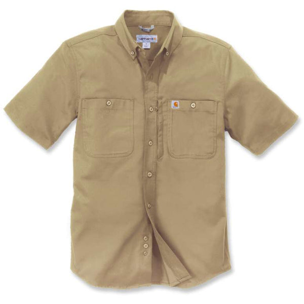 Rugged Professional SS Shirt Dark Khaki