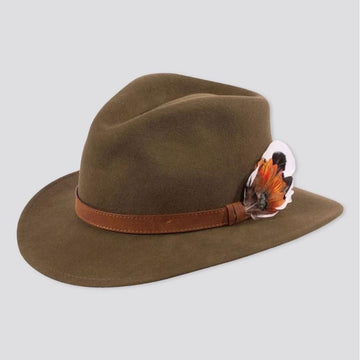Richmond Felt Hat Olive