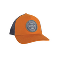 Five Panel Patch Trucker Cap Rust