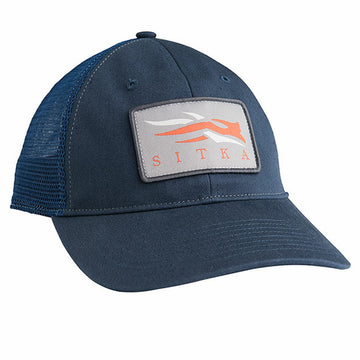 Meshback Trucker Cap Eclipse Blue