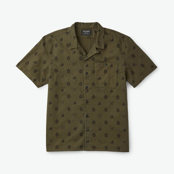 Smokey Bear Camp Shirt Olive