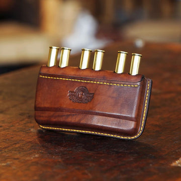 Somerset Double Rifle Cartridge Pouch