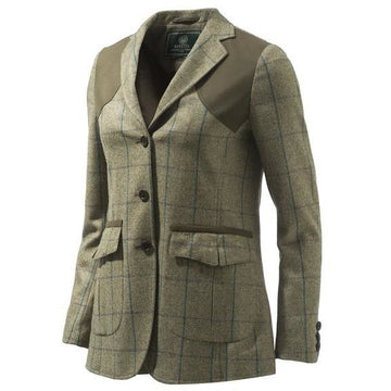 St James Lady Jacket Light Green Check