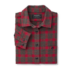 Women's Alaskan Guide Shirt Heather Taupe/Red Plaid