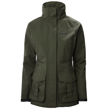 Womens Fenland BR2 Packaway Jacket Dark Moss