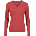 Georgina Ladies V-Neck Rouge