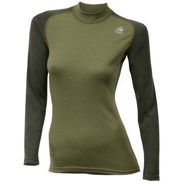 Warmwool Crewneck Lady Olive