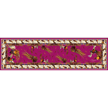 George & Friends Scarf Narrow Magenta