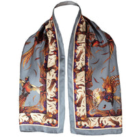 George & Friends Scarf Narrow Pidgeon