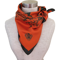 Sidenscarf Orange