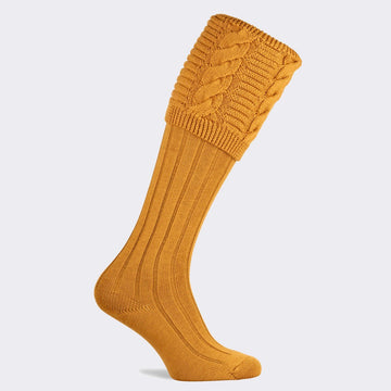 Valiant Sunflower Sock