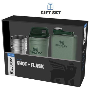 Adventure Shot Flask Gift Set
