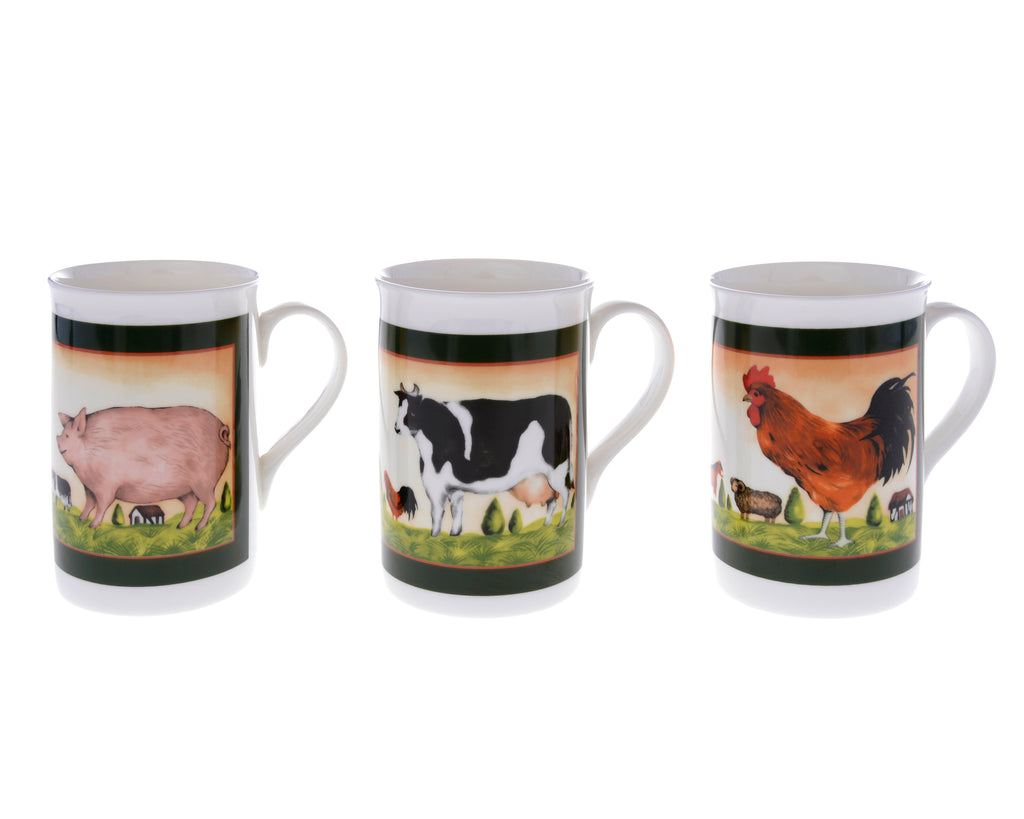 Annandale Farm Set of 3 Mugs